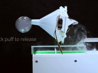 Британцы представили систему передачи сообщений и запахов в мыльных пузырях