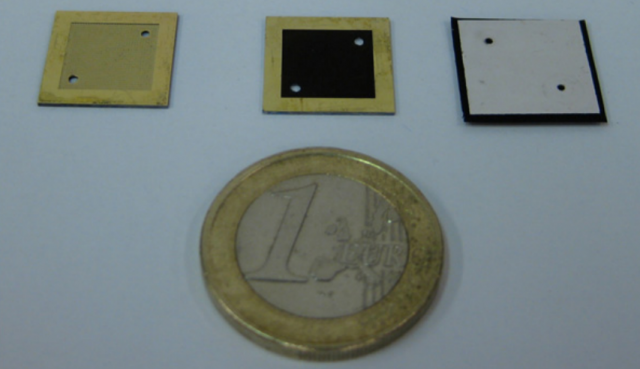 Ячейка по размеру не превосходит монету в 1 евро