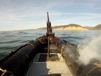 Боевой противокорабельный лазер прошёл тесты по поражению целей на воде
