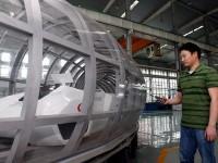 В Китае испытали маглев, который разгоняется до 2900 км/ч