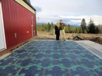 Американцы собирают деньги для строительства дорог на солнечных батареях