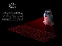 Японцы создали проектор клавиатуры в виде робота из «Звёздных войн»