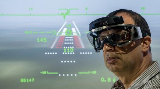 Очки дополненной реальности для пилотов Skylens