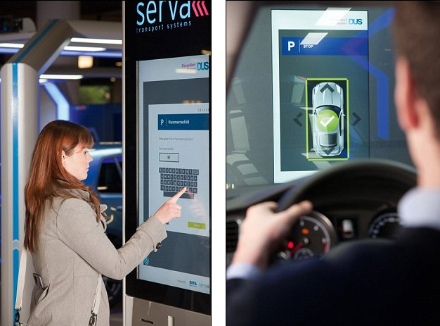 На парковке объясниться с роботом поможет автомат