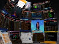 Виртуальная система для Oculus Rift от Bloomberg заменяет работнику десятки мониторов