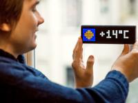 Украинские разработчики вышли на Kickstarter с диодным дисплеем