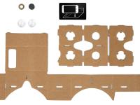 Google предлагает мастерить картонные шлемы виртуальной реальности