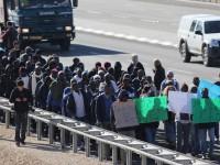Демонстрации в ЮАР будут разгонять дронами со слезоточивым газом