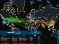 В Сети появилась карта американо-китайской хакерской войны