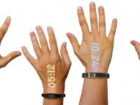 Наручные часы Ritot проецируют картинку или текст прямо на руку
