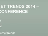 Ключевые тренды 2014 года в Интернете