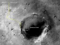 Марсоход Opportunity  установил рекорд, проехав по Марсу более 40 км