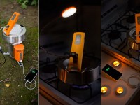 Устройство заряжает батареи от кипящей воды