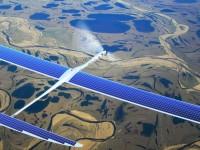 Google испытывает беспилотники на солнечных батареях, раздающие Интернет
