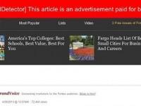 Плагин для браузеров подсвечивает скрытую рекламу