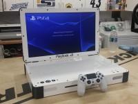 Умелец превратил консоль PlayStation 4 в ноутбук