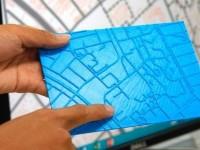 3D-принтеры будут печатать тактильные карты для людей с плохим зрением