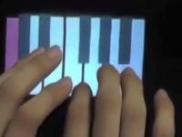 В Японии создан экран, на котором можно ощутить изображаемый объект