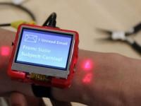 Новая технология превращает руку в сенсорную панель