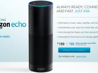 Компания Amazon представила «умную» колонку Echo