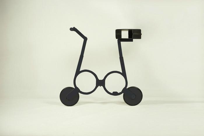 Велосипед в разобранной состоянии, готовый к езде