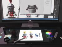 Dell представила компьютер с горизонтальным сенсорным дисплеем