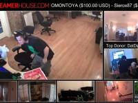 Три американца зарабатывали через канал на Twitch, круглосуточно играя в игры