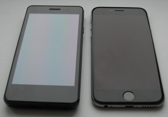 Антибликовые характеристики экрана iPhone 6 очень хорошие