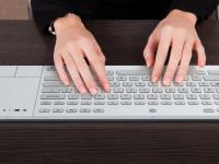 К продаже готовится клавиатура на электронных чернилах