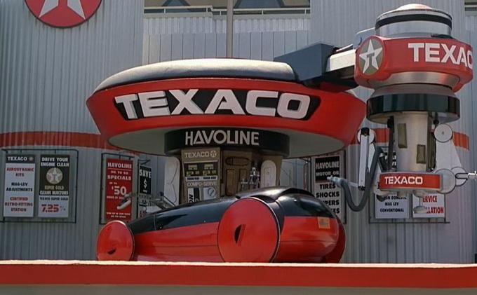 Станция техослуживания Texaco Havoline, на которой вкалывают роботы