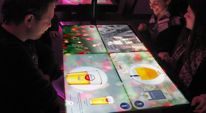 Интерактивный стол от украинской компании «Кодисофт»