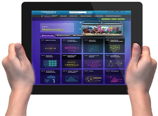 Электронный учебник по математике на iPad