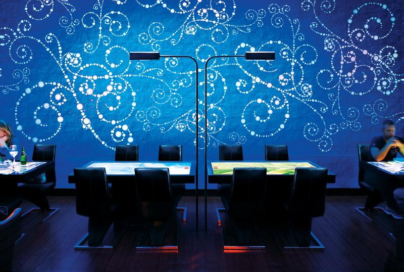 Дизайн інтерактивного ресторану