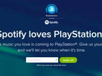 Sony вместе со Spotify запускает новый сервис потоковой музыки