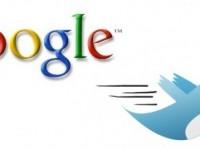 Записи в Twitter появятся в поисковой выдаче Google