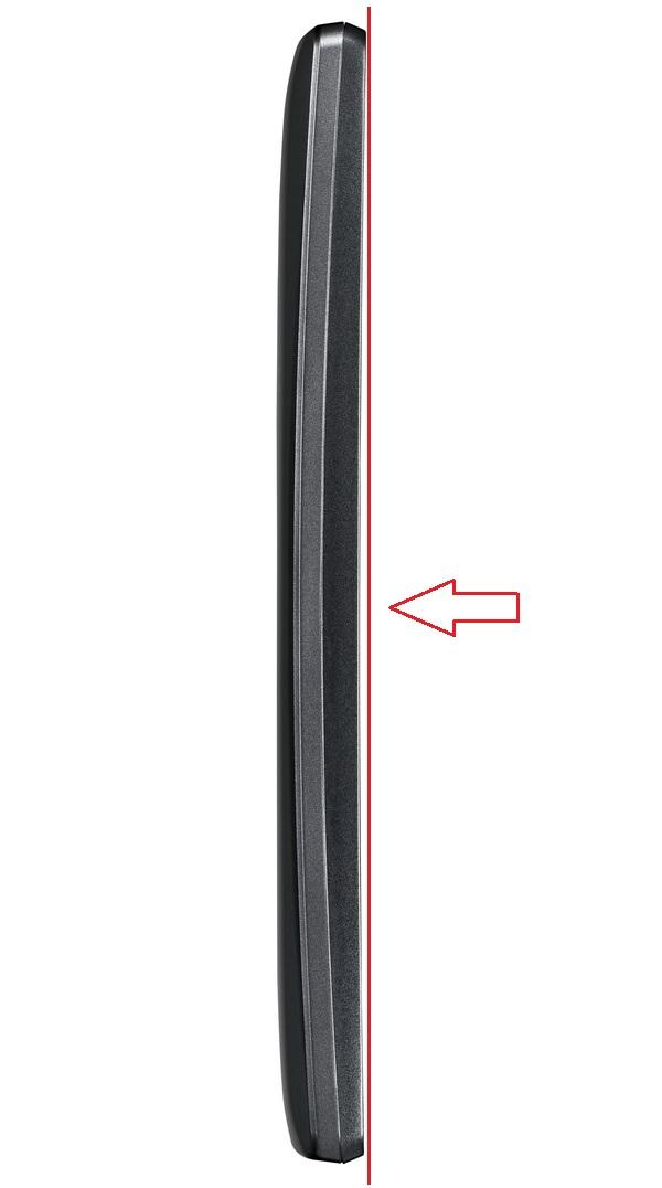 Кривизна задней панели корпуса в Spirit заметно больше, чем экрана, вследствие чего гаджет приобретает весьма необычный и стильный вид.