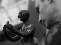 В Киеве поставили скульптуру, которая раздаёт Wi-Fi