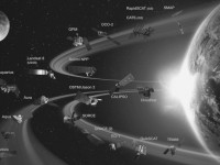 Видео: NASA показало орбитальную группировку спутников Земли в динамике