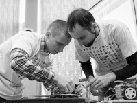 Украинская команда заняла третье место на международных соревнованиях роботов