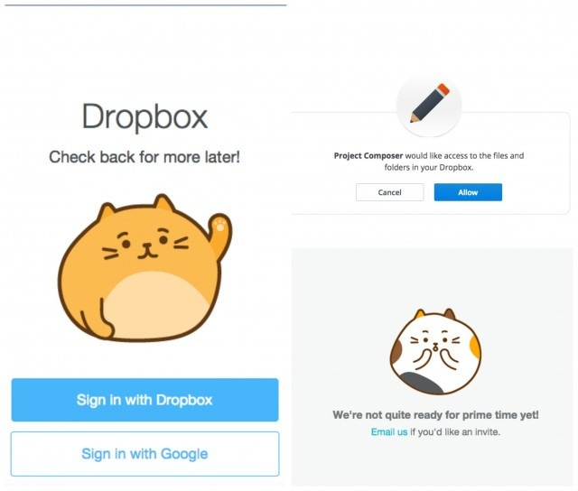 DropboxProjectComposer