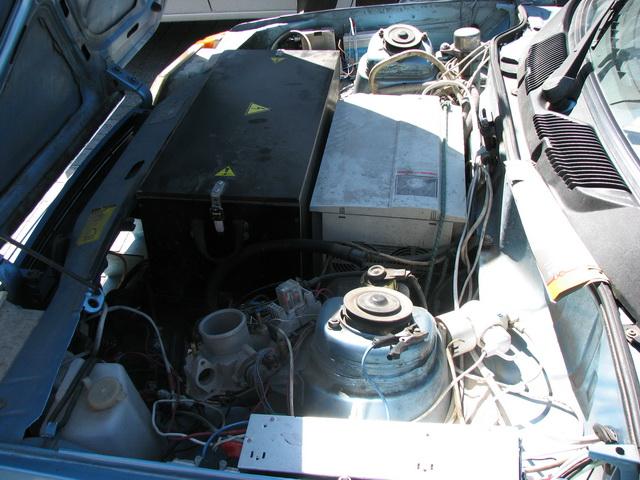 Под капотом «Славуты» — аккумуляторные батареи, электропривод и контролеры