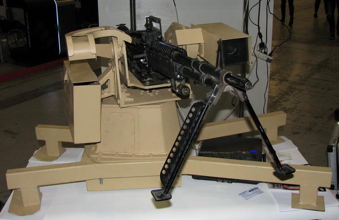 Турель для пулемёта с дистанционным управлением