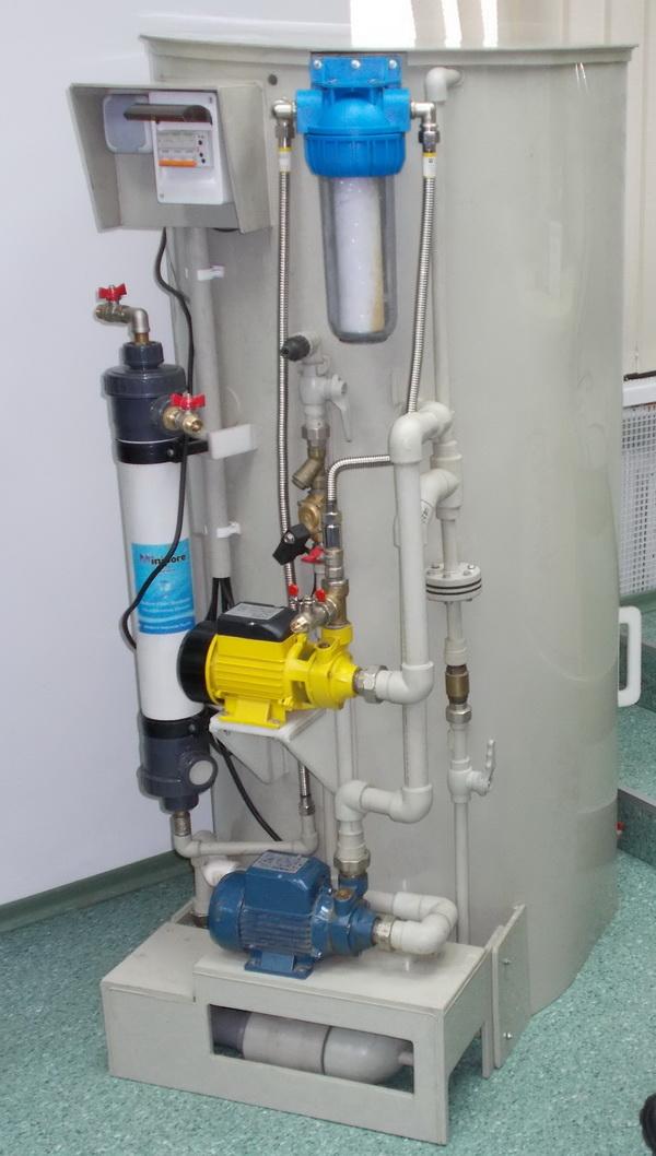 Созданный украинскими учеными автоматизированный фильтр производит до 10-12 кубометров очищенной воды в сутки