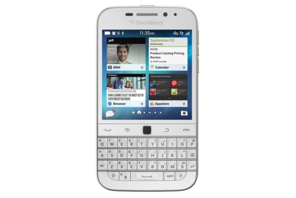 Белый BlackBerry Classic
