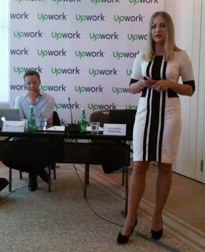 Катерина Божкова: «Западные клиенты очень ценят ту жажду, с которой работают украинские фрилансеры»