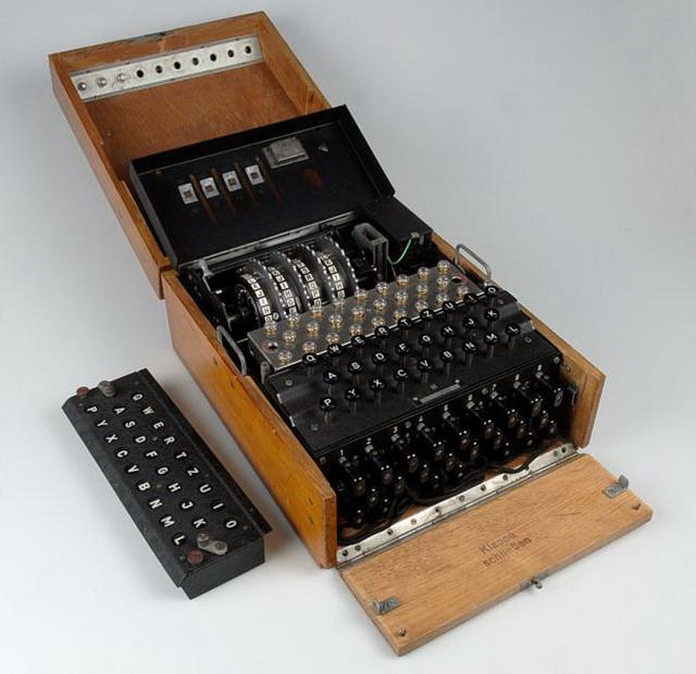 Электрическая шифровальная машина «Энигма»