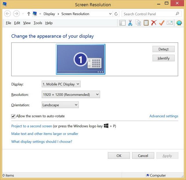 Устройство от ASUS оснащено дисплеем с разрешением Full HD 1920х1080, что небычно для ноутбука, но является стандартом для планшета