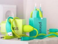 Украинская компания Pixus начала продажу цветных зарядных устройств за 199 грн