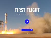 Видео: Испытания ракеты New Shepard, в которую инвестировал Джефф Безос (Amazon)