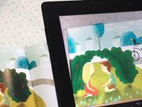 10+ украинских интерактивных детских книг для планшетов